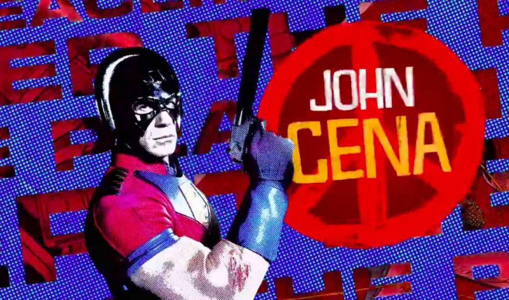 John Cena Peacemaker The suicide squad serie