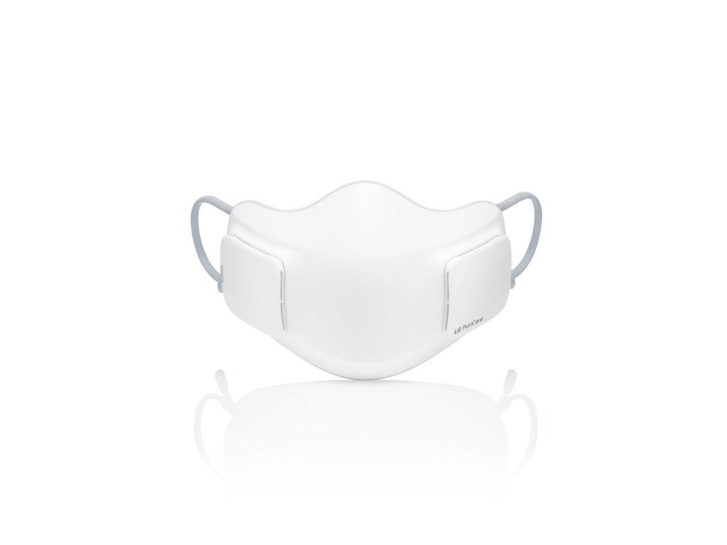 LG cubrebocas blanco