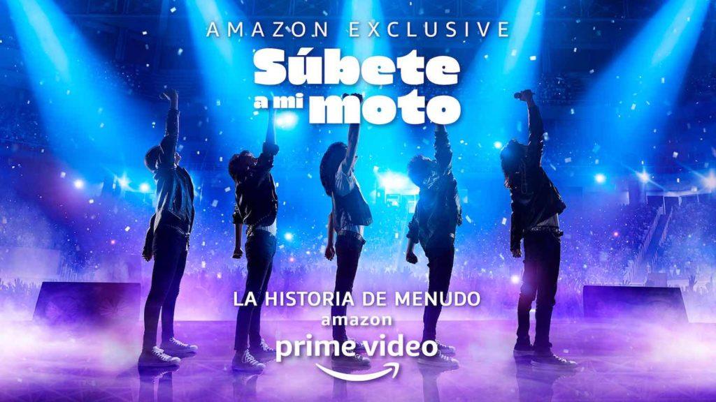 Súbete a mi moto Amazon Prime Video Menudo