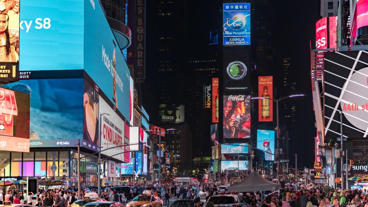 Times Square recibirá el 2021 con un evento virtual debido al Covid-19