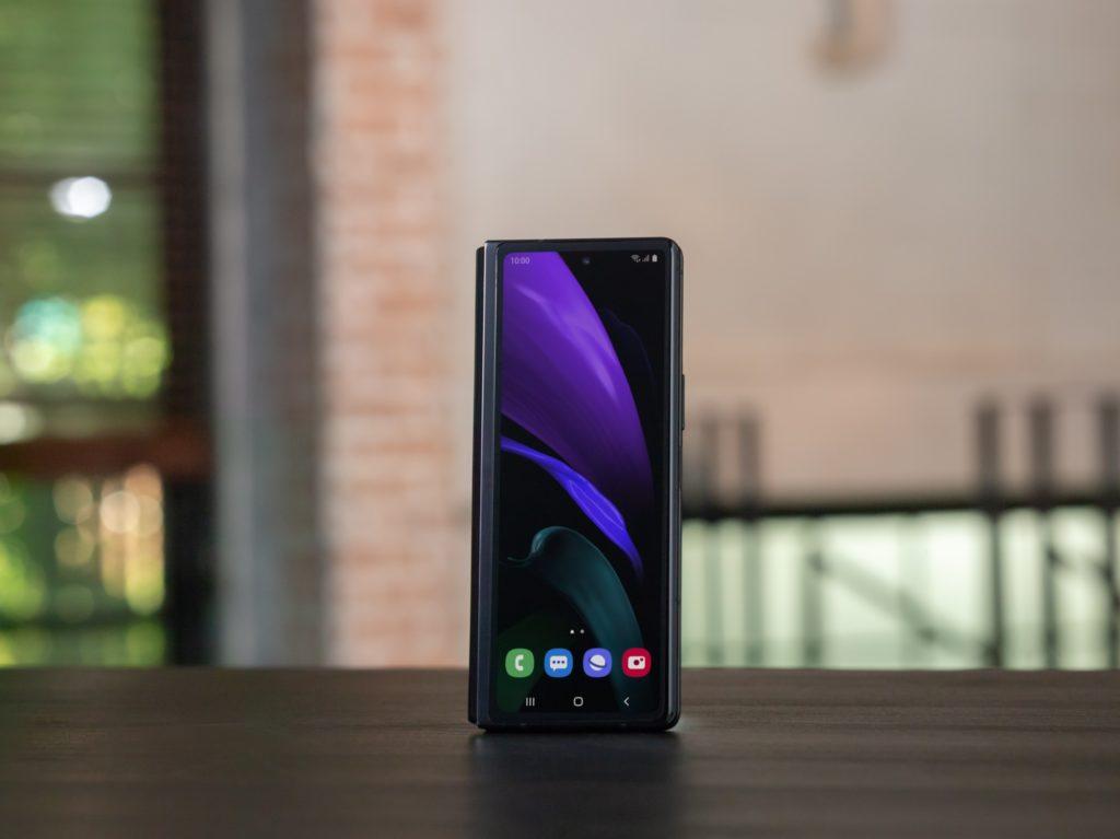 smartphone Samsung negro