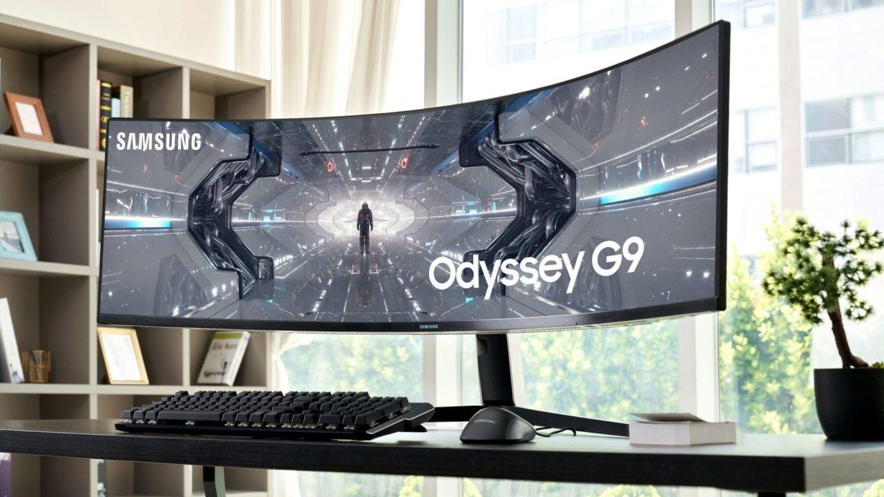 Así es el monitor futurista para gaming que Samsung trae a México