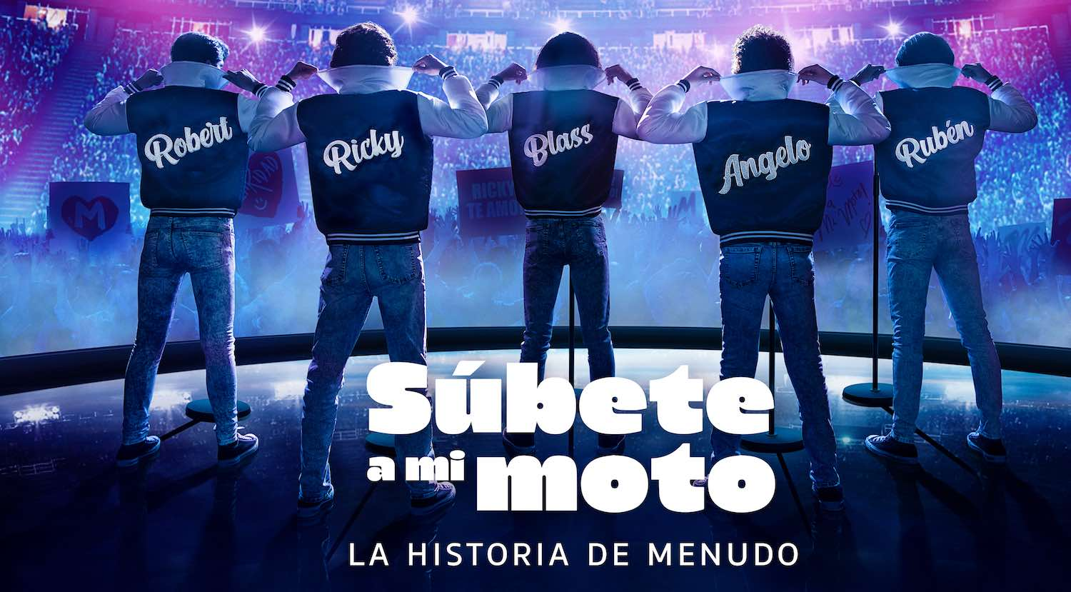 Súbete a mi moto Menudo Amazon Prime Video