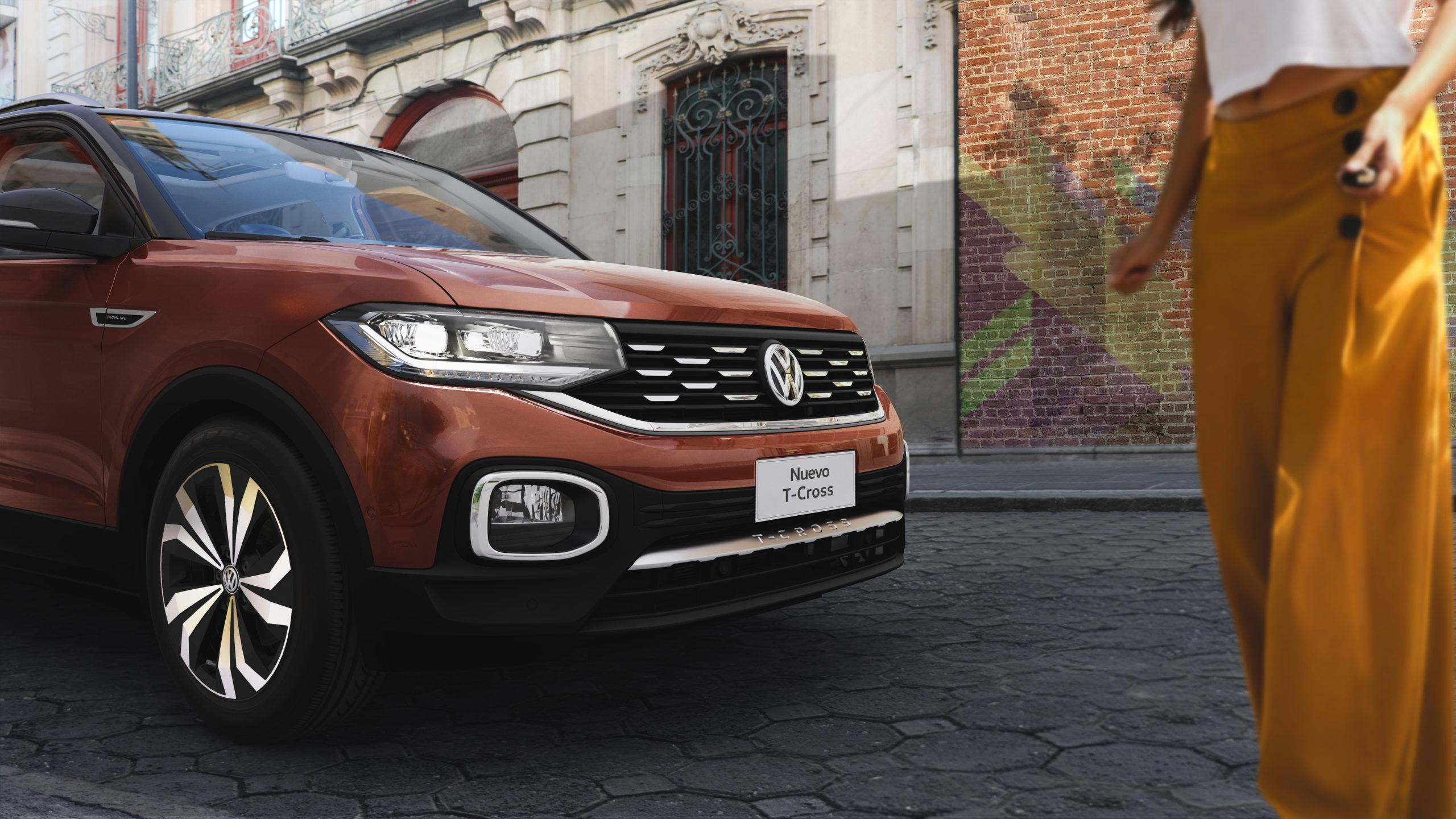 Volkswagen llama a revisión a camionetas T-Cross 2020