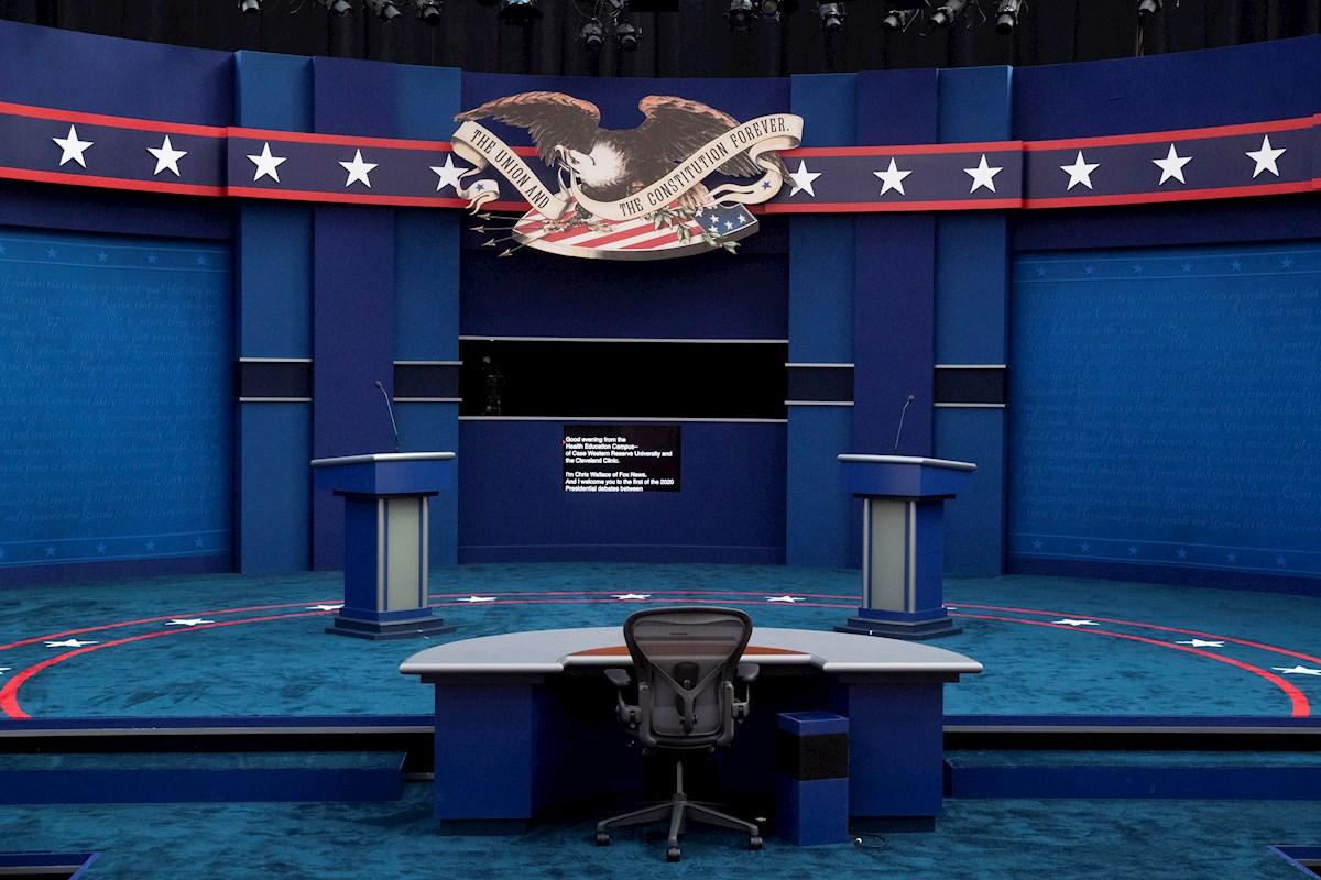 Trump vs. Biden: el primer debate se espera 'beligerante'