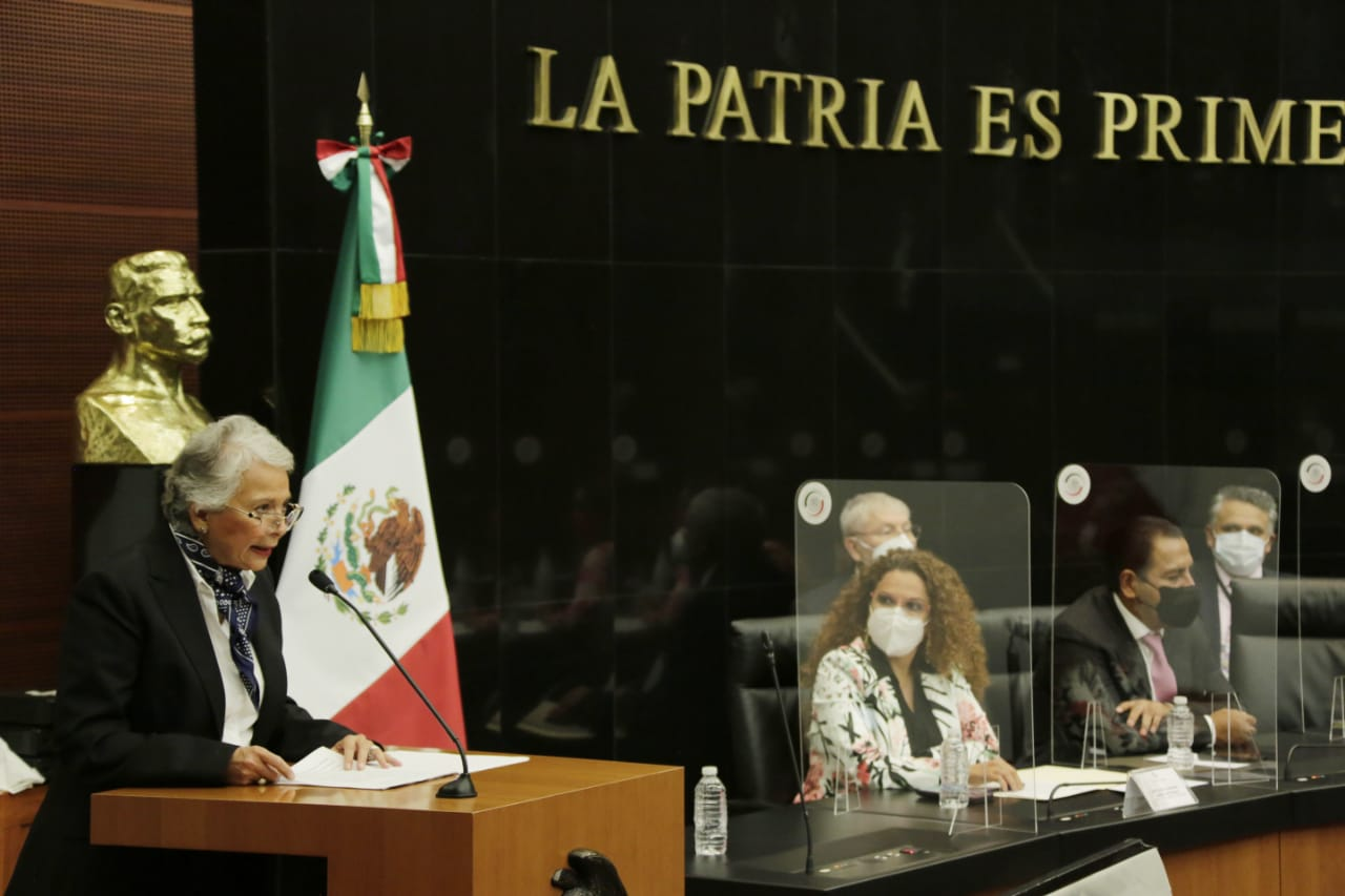 Los derechos humanos son un pilar, las puertas de Segob están abiertas: Sánchez Cordero