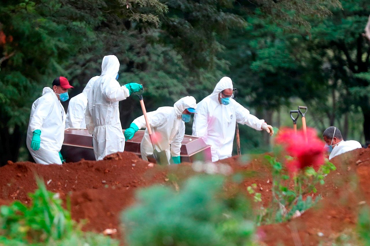 Covid-19 será la principal causa de muerte en Latam a fin de año, prevén científicos