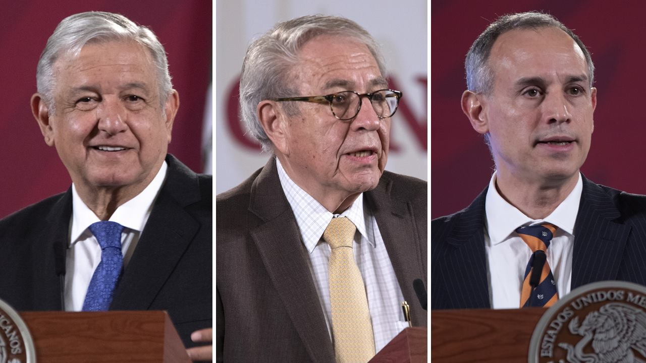 PAN denuncia a AMLO, Alcocer y López-Gatell por 'sabotaje' con manejo de epidemia