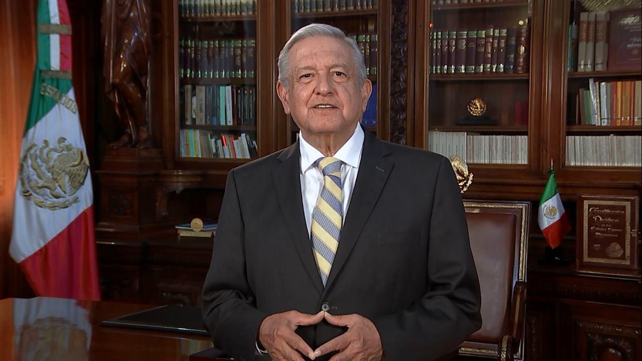 'Ante pandemia necesitamos ser muy solidarios', afirma López Obrador en video para la ONU