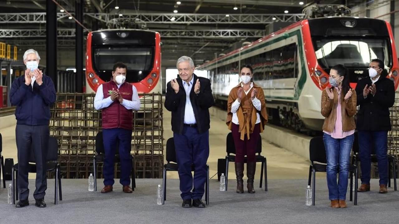 López Obrador pide terminar el Tren Interurbano México-Toluca en 2022
