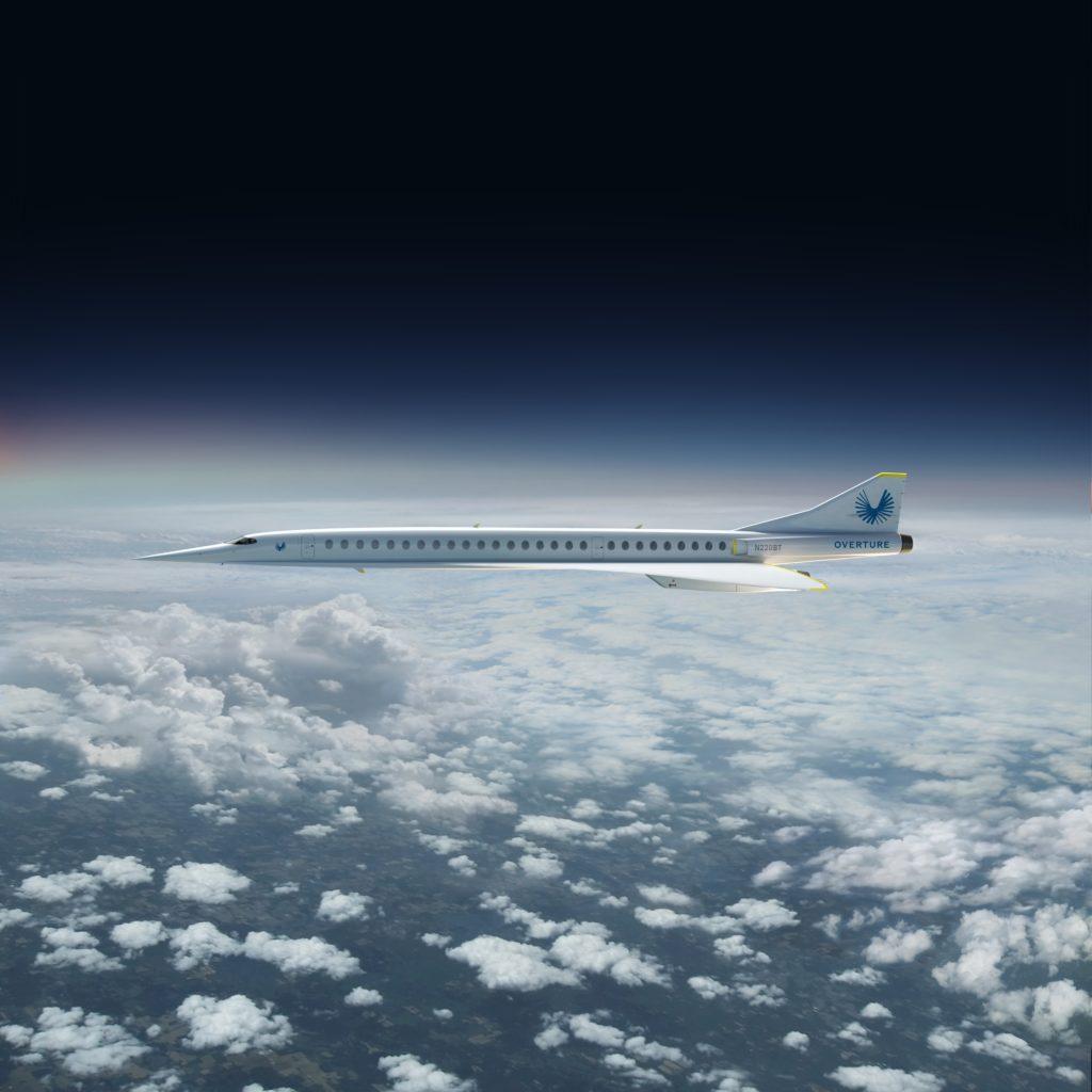 avión supersónico Overture