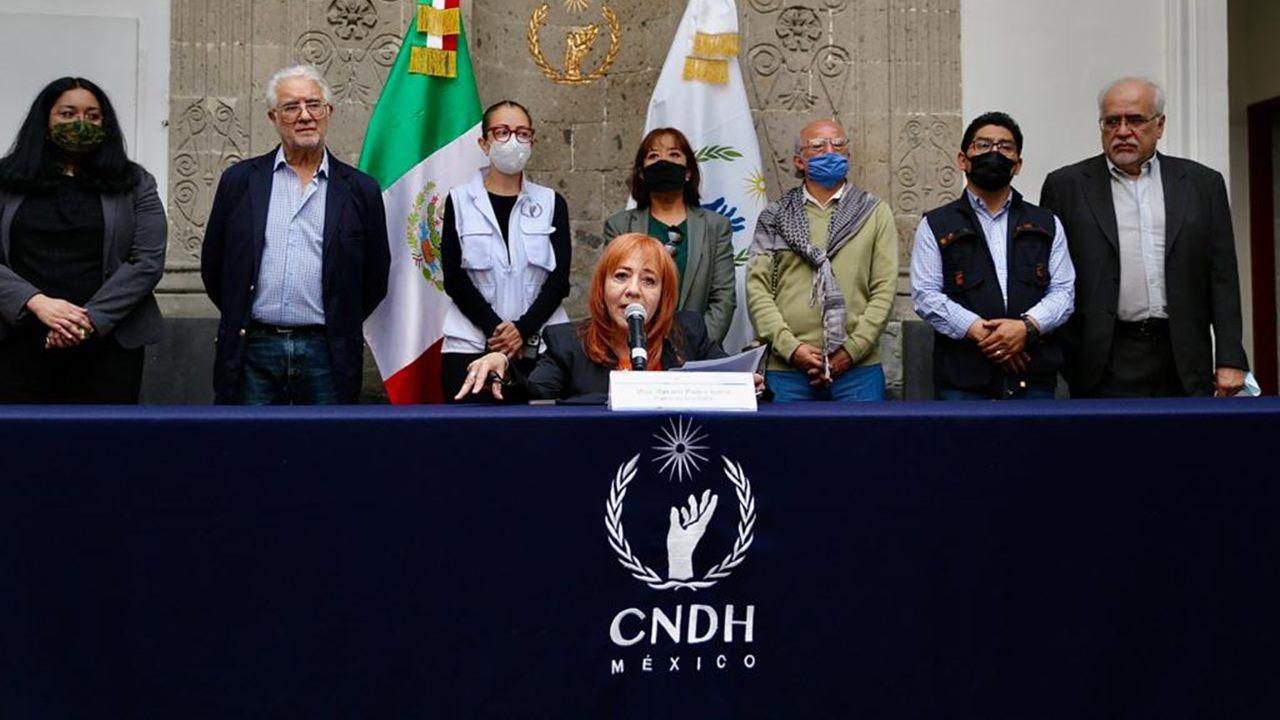 CNDH se compromete emitir recomendación sobre violencia de género