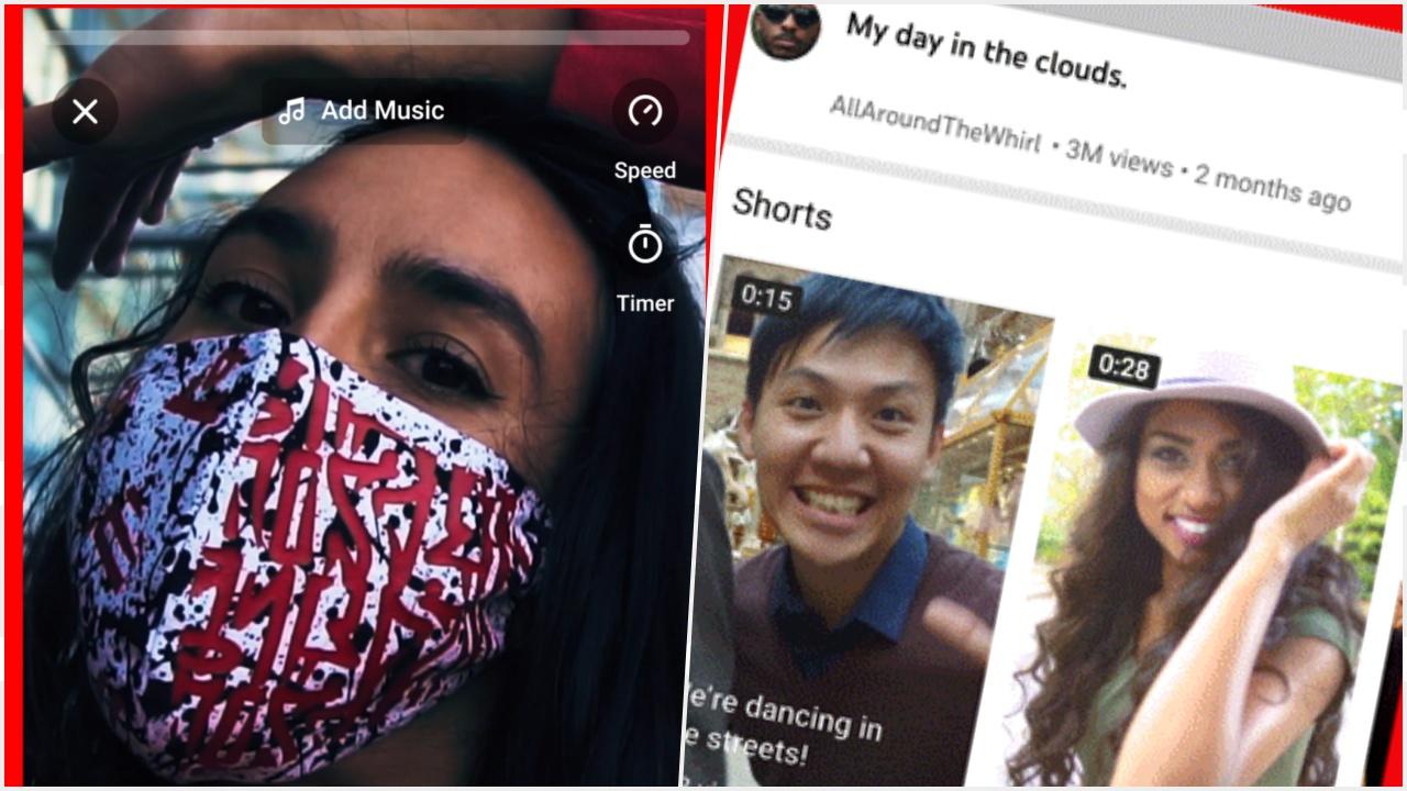 YouTube lanza Shorts, sus videos cortos para competir con TikTok y Reels