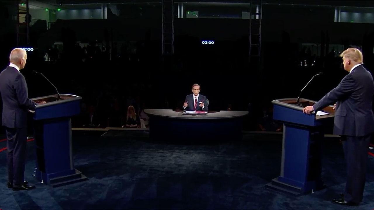 Covid-19 y racismo, los puntos álgidos del primer debate presidencial en EU