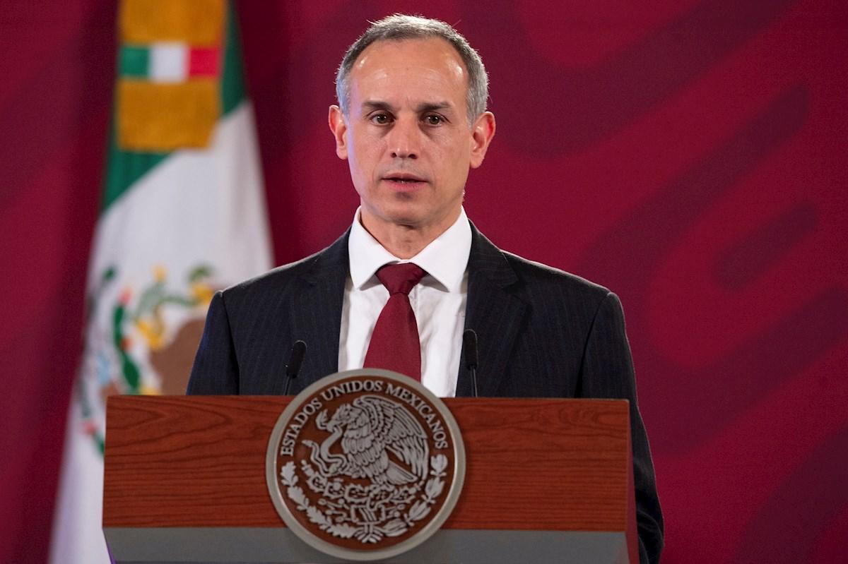 México muestra evolución favorable contra pandemia, según datos de López-Gatell