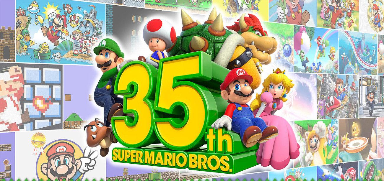 Nintendo relanza 'Súper Mario Bros' para celebrar sus 35 años