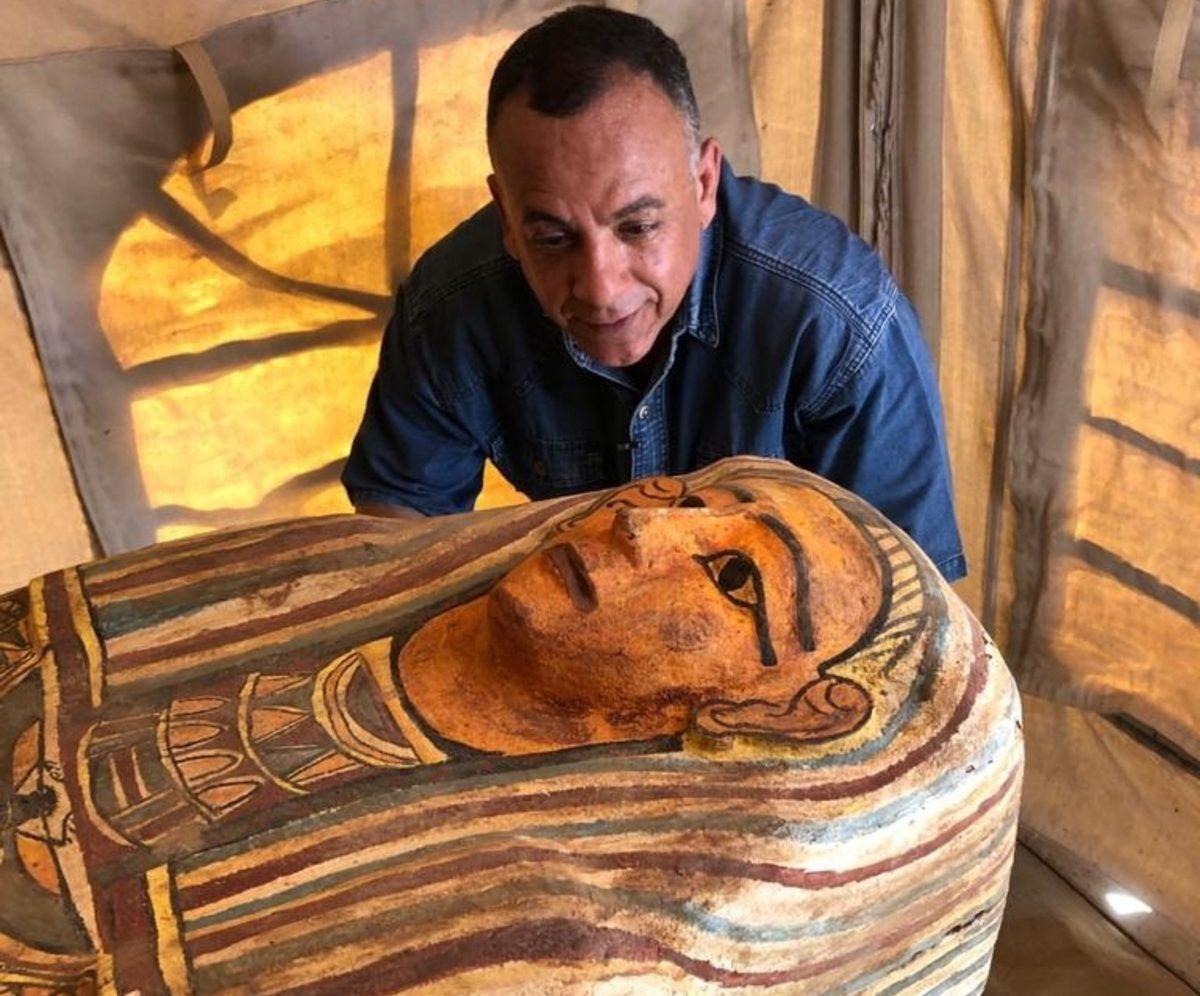 Descubren 27 sarcófagos con más de 2,000 años de antigüedad en Egipto