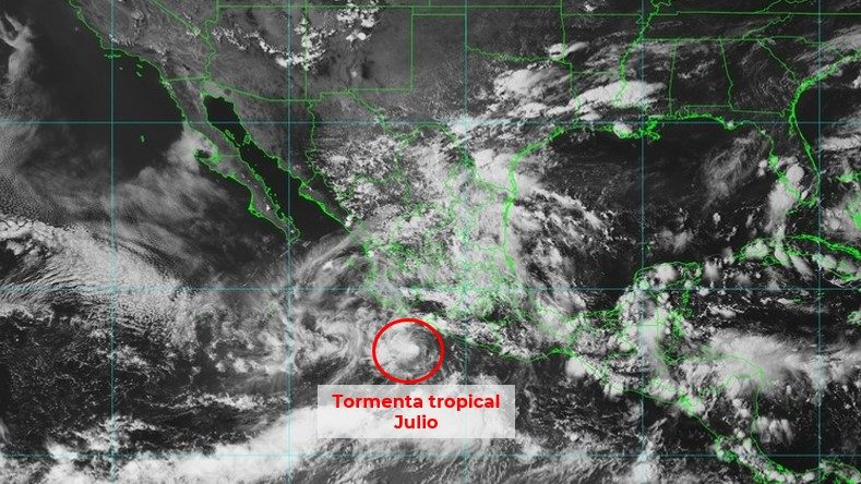 tormenta Julio Guerrero