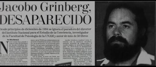 ¿Qué sucedió con Jacobo Grinberg?