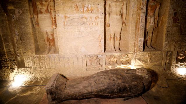 sarcófagos Egipto