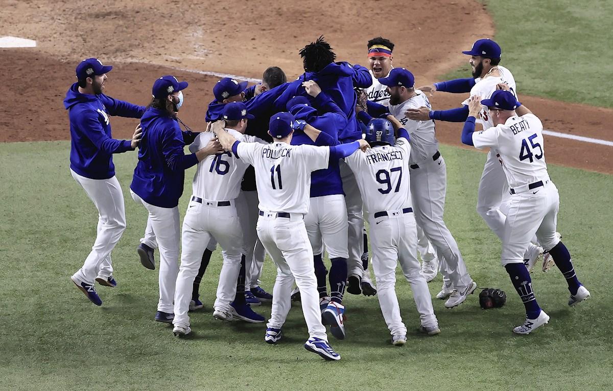 Los Dodgers ganan la Serie Mundial después de 32 años