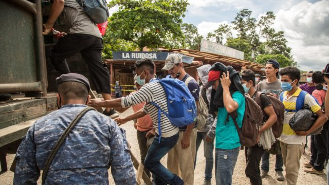 migrantes pandemia Guatemala