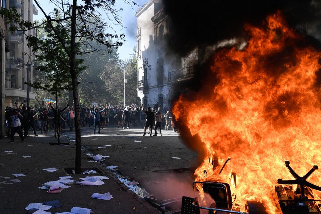 Manifestaciones en Santiago, Chile