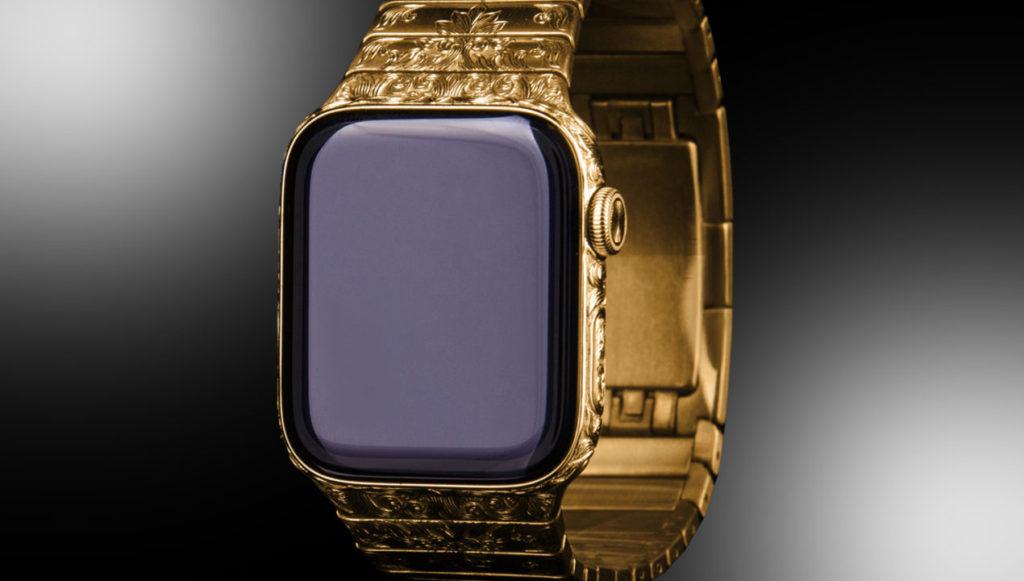 Apple Watch Serie 6 en oro
