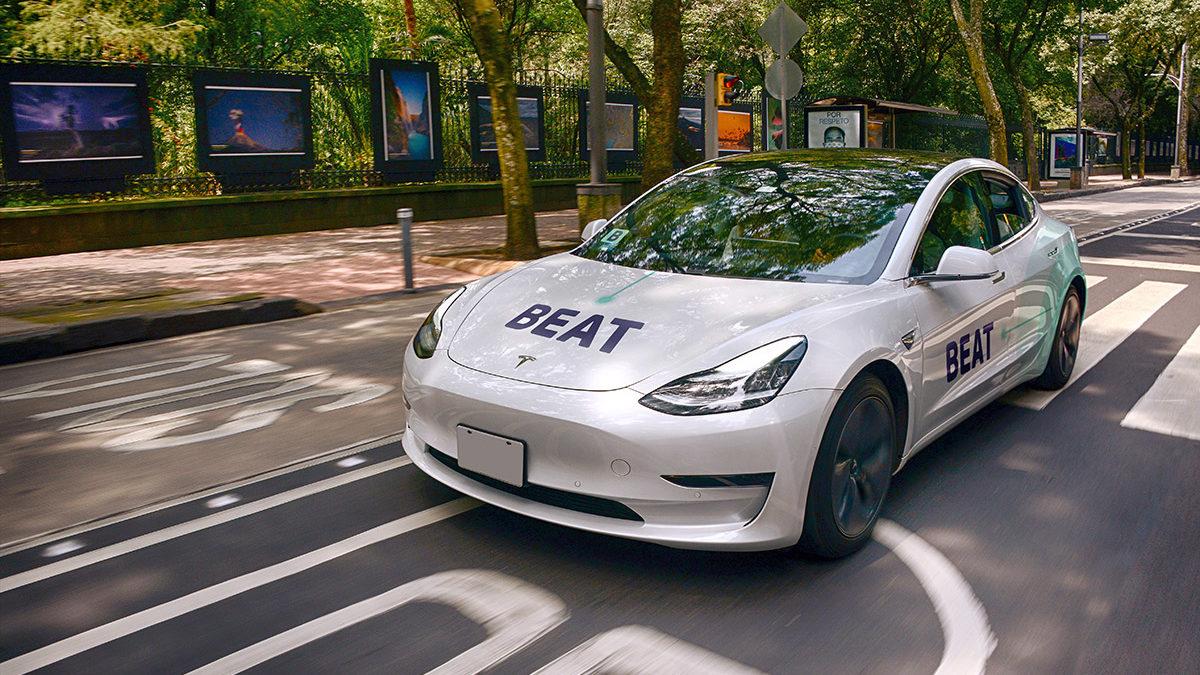 Tras sumar autos Tesla a su flota, Beat va por más autos eléctricos en México