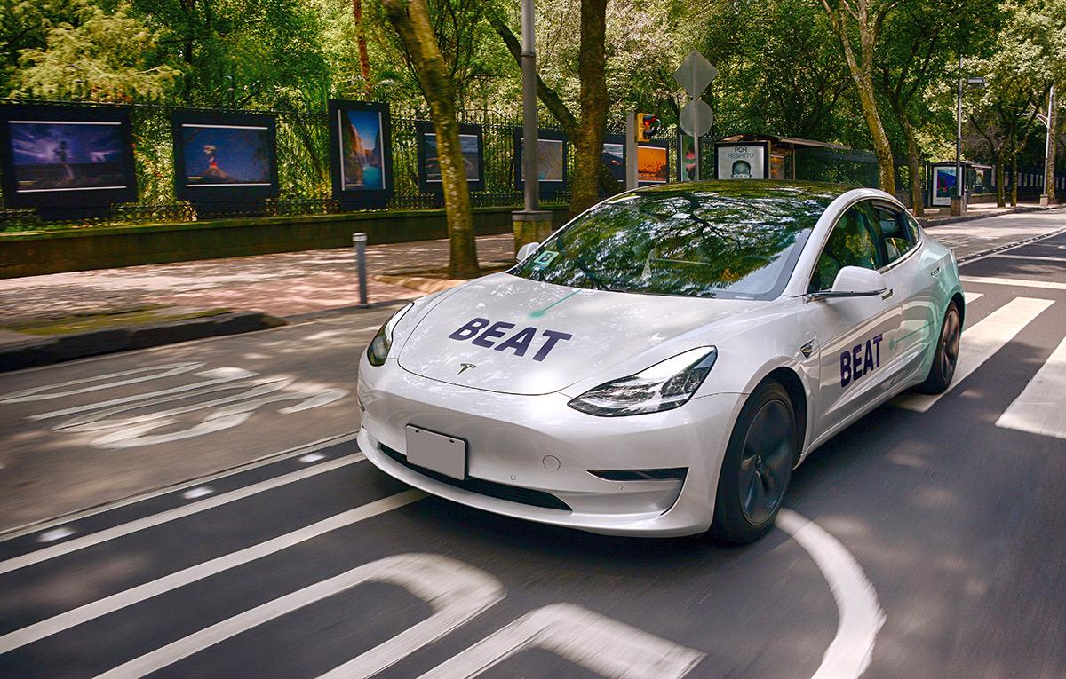 BEAT sumará unidades Tesla a su flota de autos eléctricos en CDMX