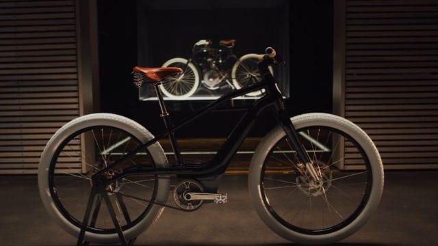 bicicleta eléctrica Harley-Davidson