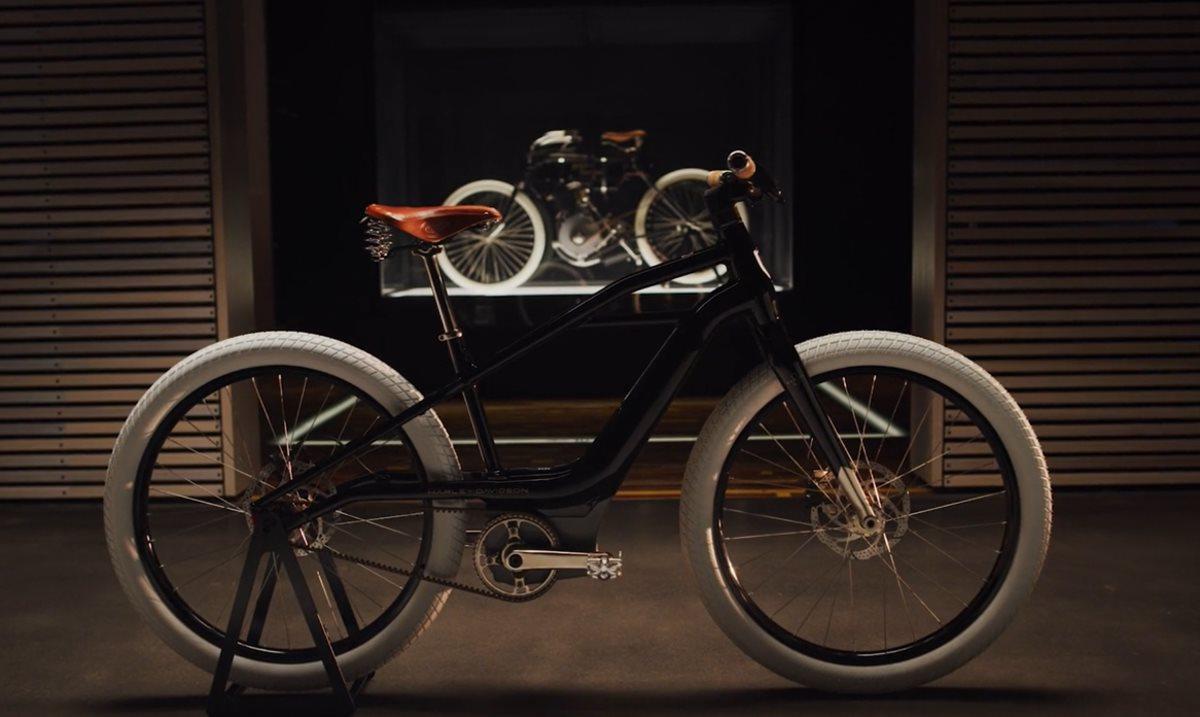Así será la primera bicicleta eléctrica de Harley-Davidson