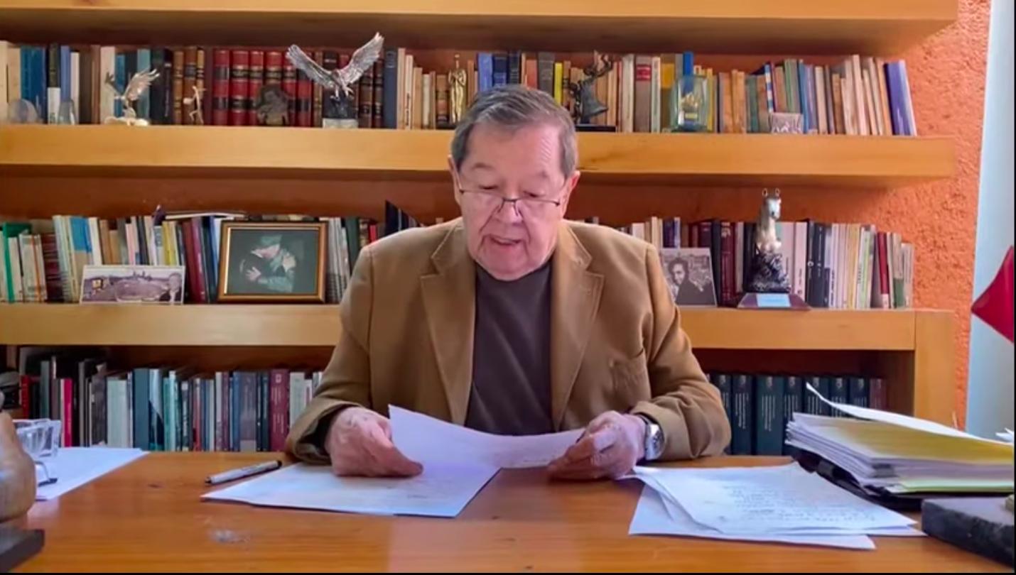 No me doblegaré: Porfirio Muñoz Ledo; apeló resultados de la encuesta