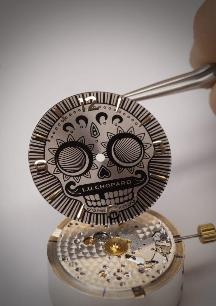 reloj Chopard Día de Muertos