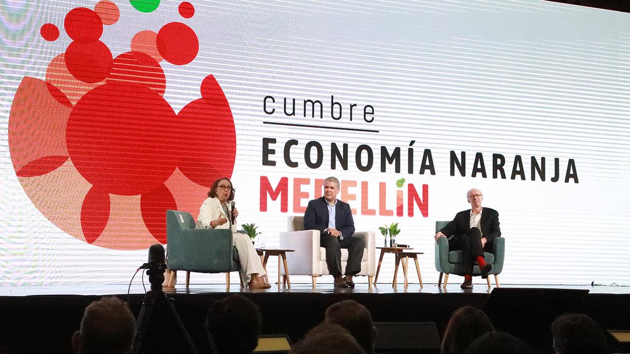 Medellín busca consolidarse como el 'Davos' de la Economía Naranja