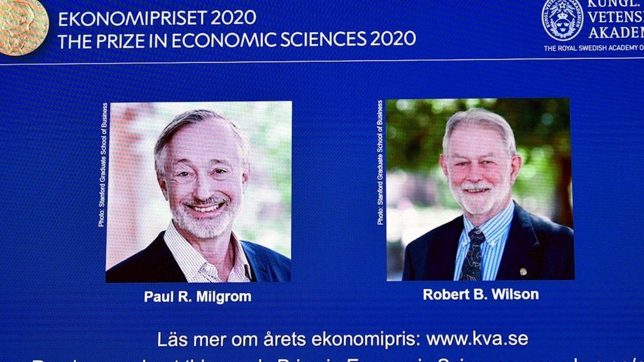 Paul Milgrom y Robert Wilson ganan Nobel de Economía por trabajo sobre teoría de subastas