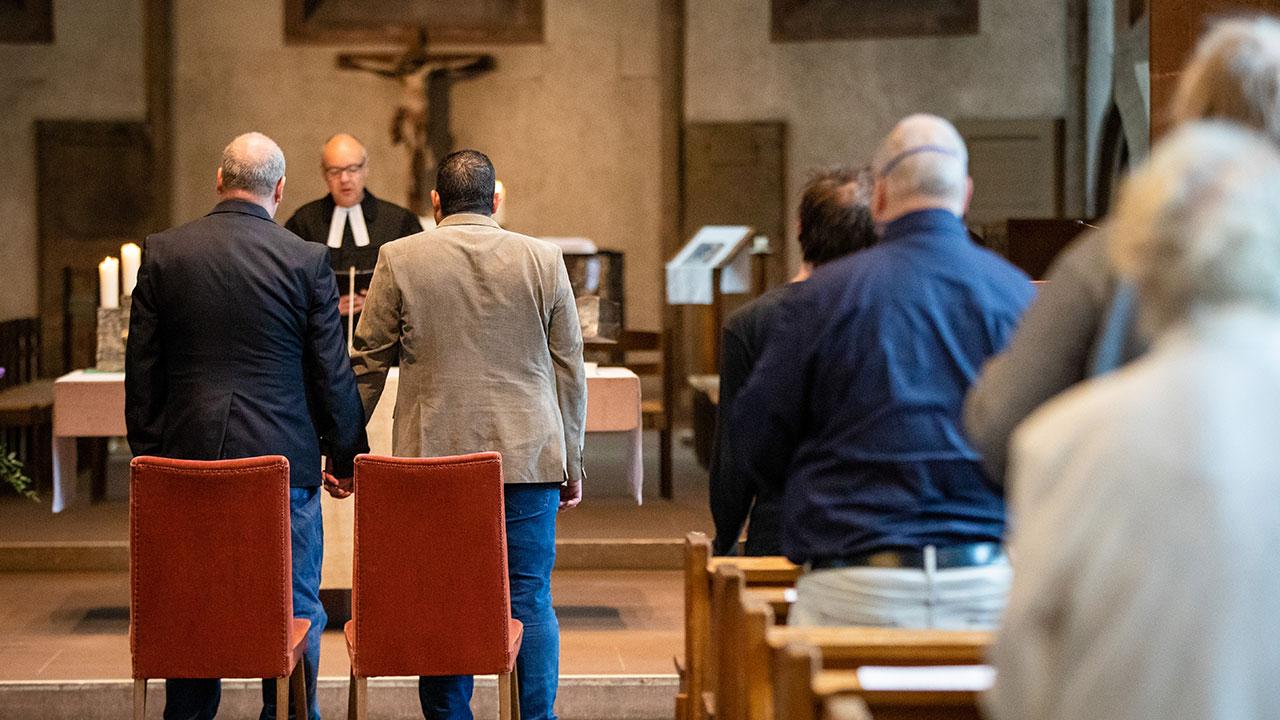 Fotogalería: Así han sido las uniones homosexuales, que hoy respalda el Papa Francisco