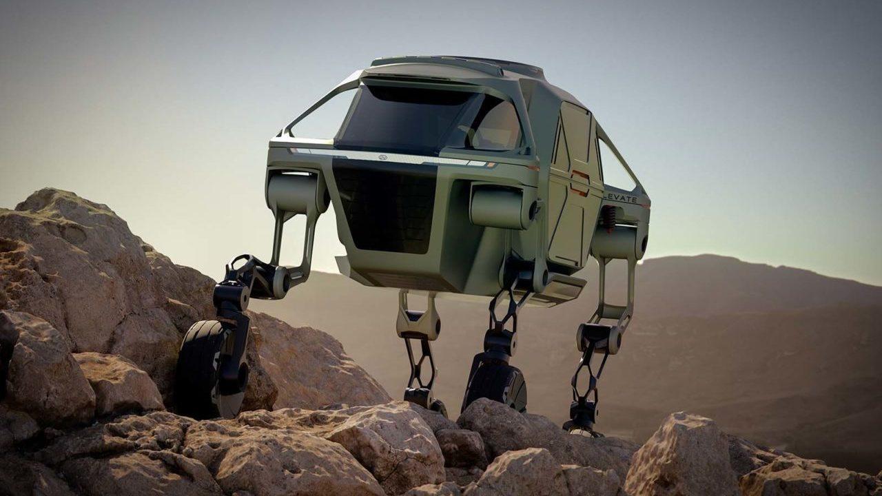 ¡Hyundai desarrollará autos que 'caminan'!