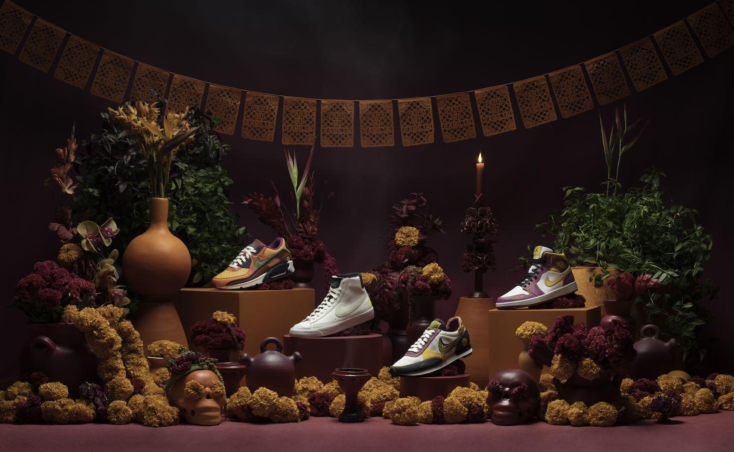 Nike presenta su nueva colección del Día de Muertos