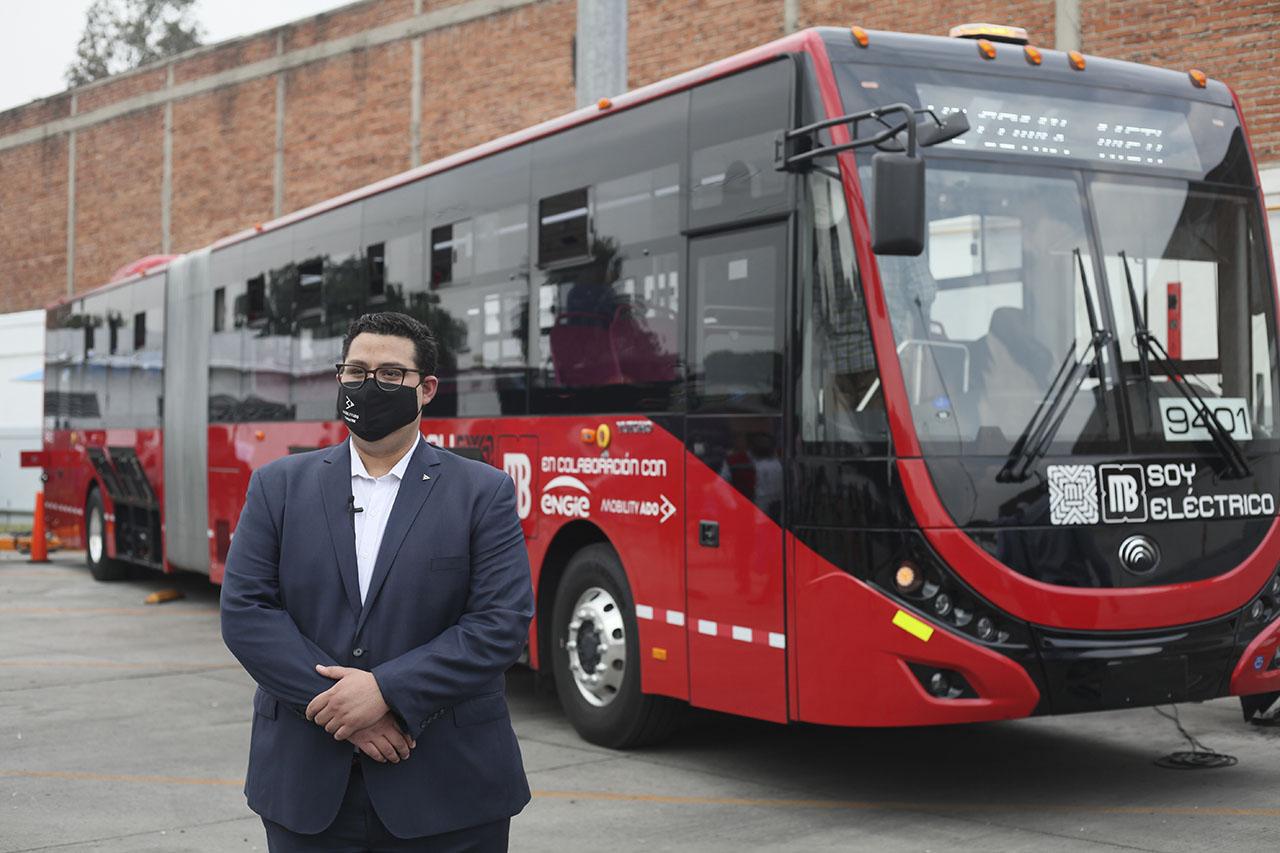 Movilidad y tecnología: así es el primer Metrobús eléctrico de la CDMX