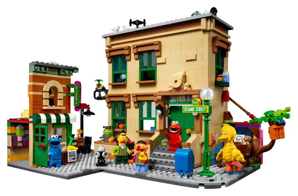 Plaza Sésamo LEGO