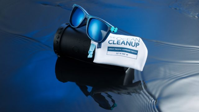 Las gafas de sol que luchan contra el Gran Parche de Basura del Pacífico