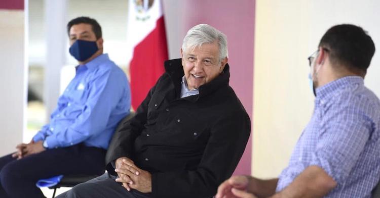 López Obrador acorta su discurso en Tamaulipas ante protestas