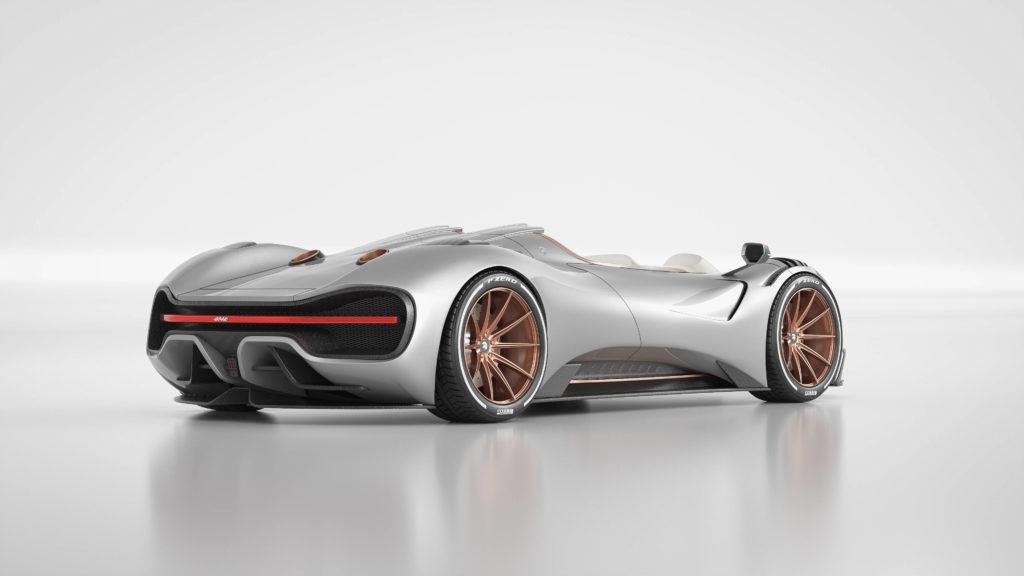 auto deportivo Ares Designe