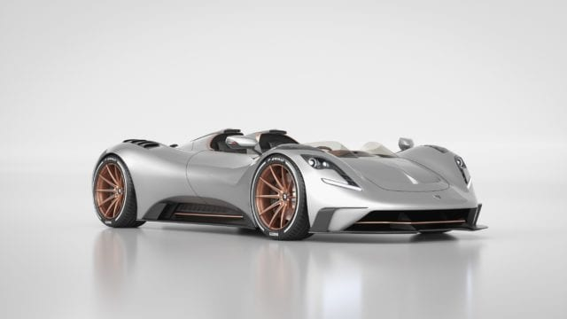 auto deportivo Ares S1 Project Spyder