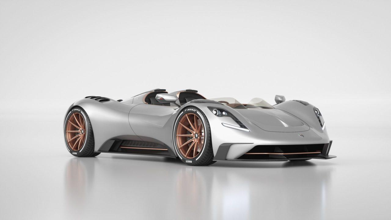 Ares Designe presenta un auto deportivo neo-retro con ADN de Corvette