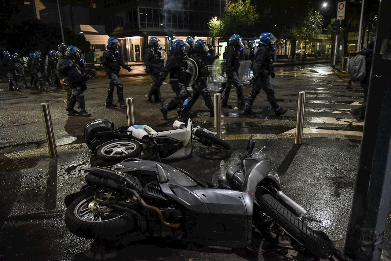 protestas italia covid