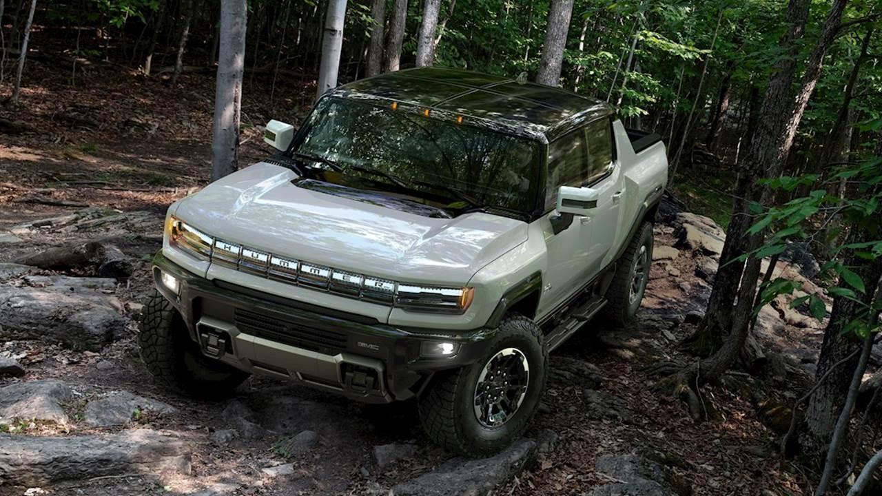 General Motors presenta su Hummer eléctrico; el precio: 112 mil dólares