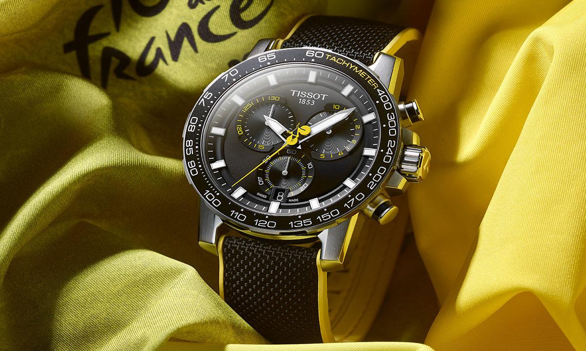 Tissot conmemora el Tour de Francia con este reloj de edición especial