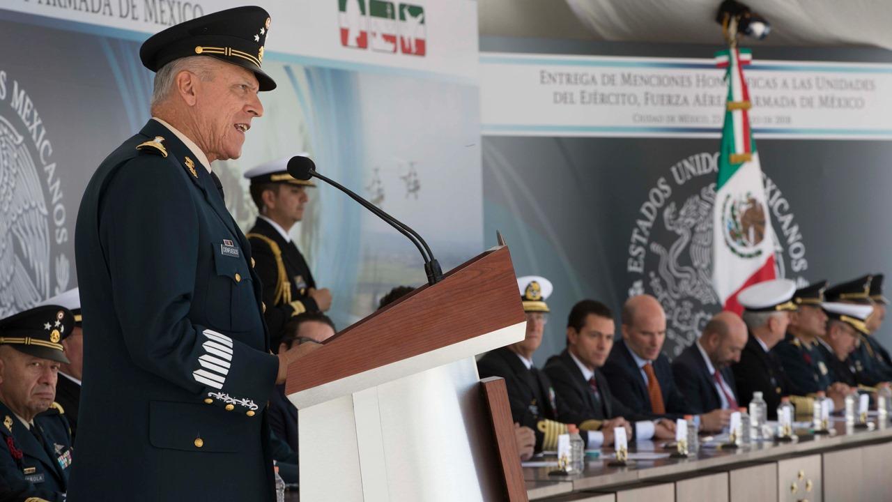 Repatriación de Cienfuegos muestra fuerza de México para 'jugar' con EU y ganar: WP